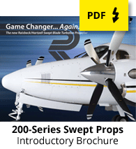 200-Series Swept Blade Propellers brochure
