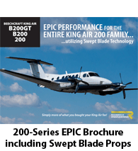 Raisbeck King Air 200 Series EPIC Performance Package Brochure