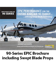 Raisbeck EPIC Performance Package for 90 Series King Airs - Brochure