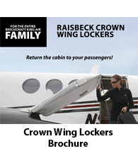 Raisbeck Crown Wing Lockers for all King Airs - Brochure