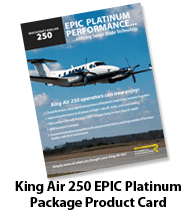 Raisbeck EPIC Platinum Performance Package for 250 King Airs - Brochure