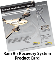 Raisbeck Ram Air Recovery System for King Airs - Product Card